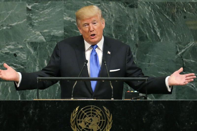 Trump addresses the UN General Assembly